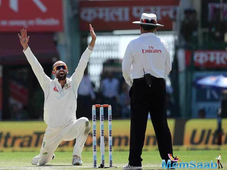 Australia have managed to rein India back on a day when the visitors picked up wickets in regular intervals, to restrict India to 248 for 6 at the end of Day 2.