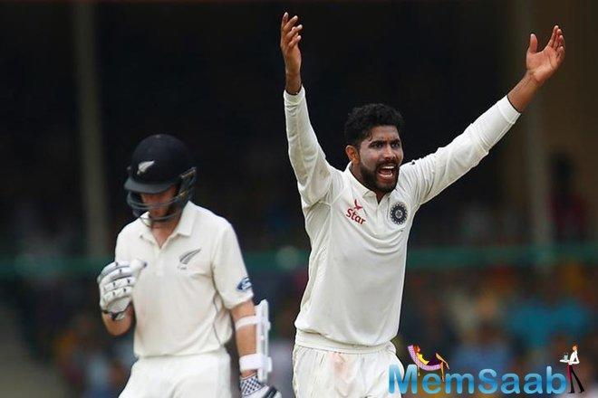 Earlier in the day, After Wriddhiman Saha and Ravindra Jadeja's gritty batting helped India secure 32-run lead, Indian bowlers put up one of their bowling performances as Steve Smith and Co crumbled.