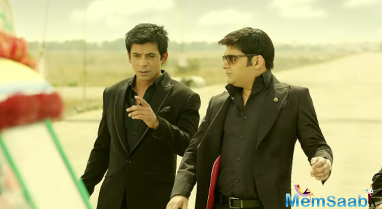 Sunil, however, admitted that Kapil is wider than him, but he is a better actor.