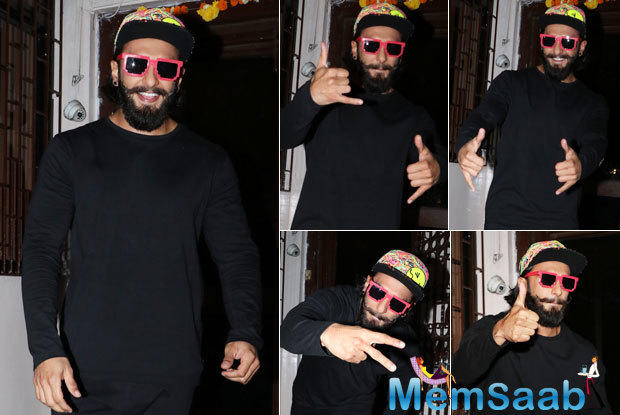 "We have previously heard Ranveer rapping in a song from Ladies Vs Ricky Bahl and later he rapped a number ""Don't hold back"" for a clothing brand he endorses."