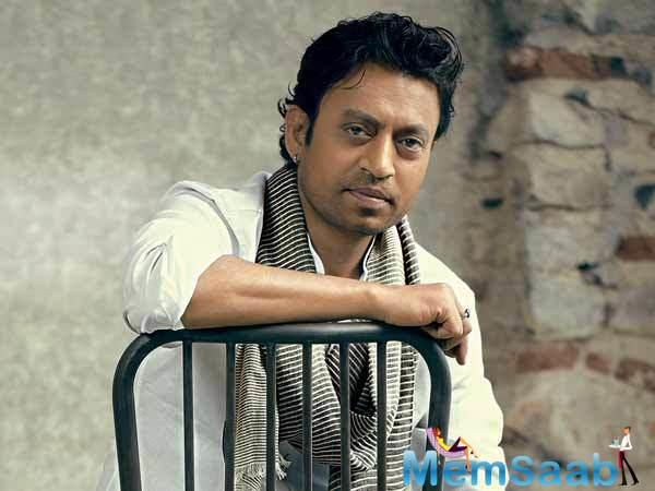 Irrfan plays a judge at a trial in the film. Shedding light on his role he says.
