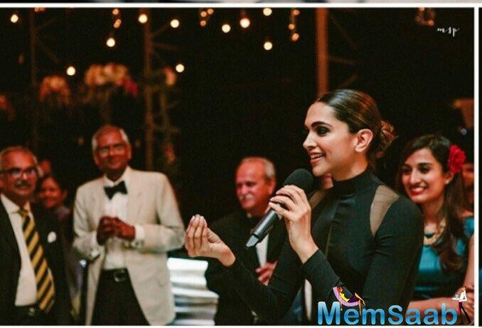 That's right, the one where she was spotted with her alleged beau Ranveer Singh.