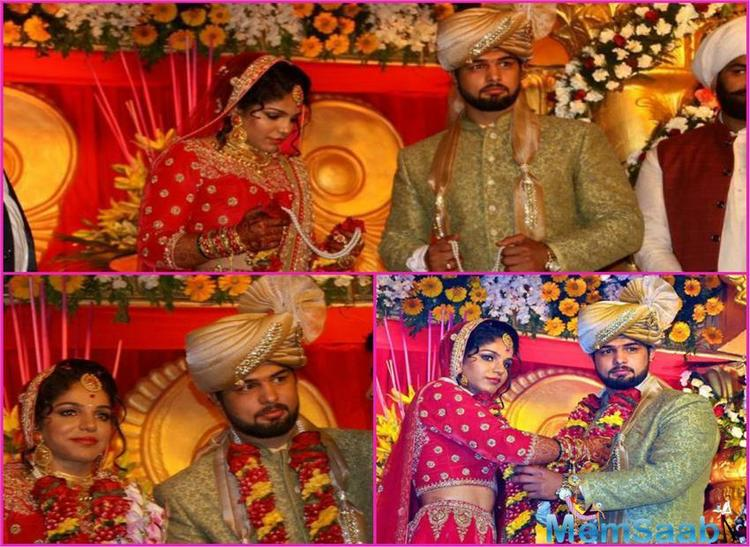 Wish you a very happy married life @SakshiMalik . Couldn't make it because of IPL camp. Best wishes for a life of joy and no kushti at home, wrote Virender Sehwag.