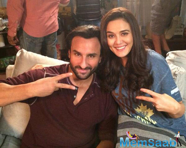 With Saif being the son of legendary Indian cricketer Tiger Pataudi and a cricket enthusiast himself and Preity being an owner and promoter of IPL franchise Kings XI Punjab.