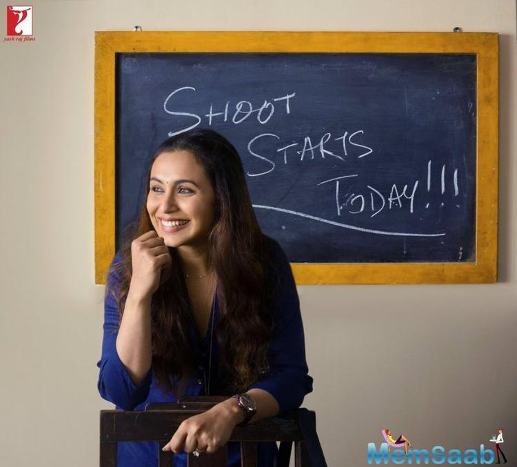 After Mardaani, Rani Mukerji comes with yet another film Siddharth P Malhotra's Hichki.