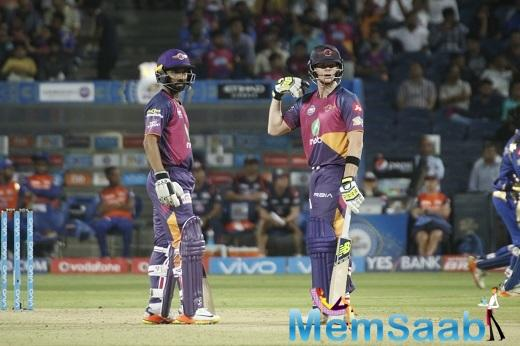 Rising Pune Supergiants captain Steve Smith  and Ajinkya Rahane win it in style for RPS against MI