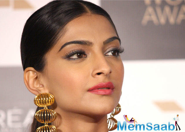 Sonam has received a special mention for her
