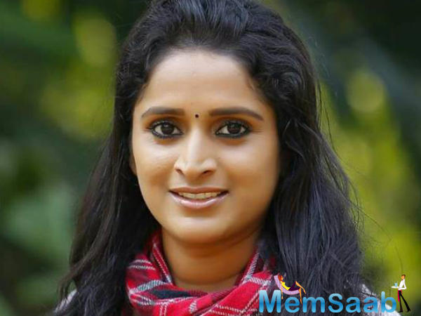 Surabhi C.M. was named Best Actress for Malayalam movie