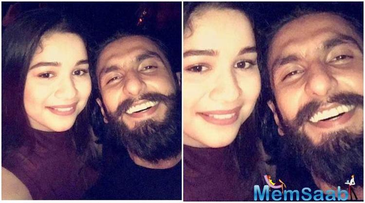 A seemingly excited Sara is seen sharing a selfie with the Bollywood heartthrob and enjoying every bit of her fan-girl moment with the actor.