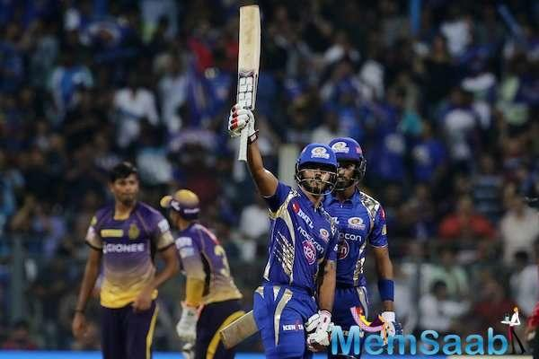 Mumbai Indians Nitish Rana scored a brilliant 29-ball 50, to hold the innings steady at one goal, while wickets toppled one after the other.