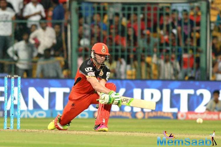 The record books will show this Indore masterclass as AB de Villiers's highest score in an IPL defeat.