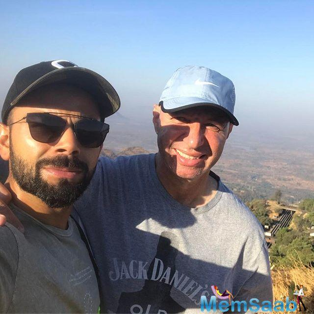 Kohli, who led India to what was a brilliant home season of Test cricket, injured his right shoulder during the third India versus Australia Test in MS Dhoni's home town Ranchi.