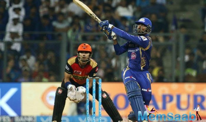 The loss also ended SRH's 5-match winning streak in the tournament.