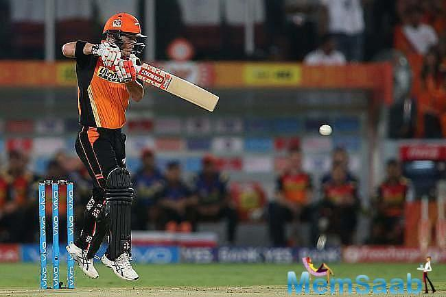 While Mumbai Indians set themselves in a catchy situation, having lost 4 wickets at 111, youngsters Krunal and Rana made sure there was no late comeback from SRH.