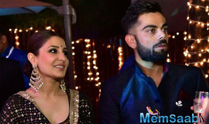 The display picture is most likely one from the time both Virat and Anushka attended cricketer Yuvraj Singh and Hazel Keech's Goa-wedding last December.