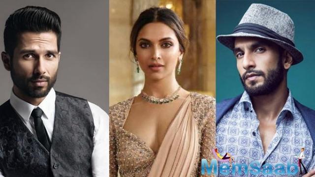 Meanwhile, Shahid Kapoor, who plays Deepika's husband, Raja Rawal Ratan Singh, continued to shoot his portions.