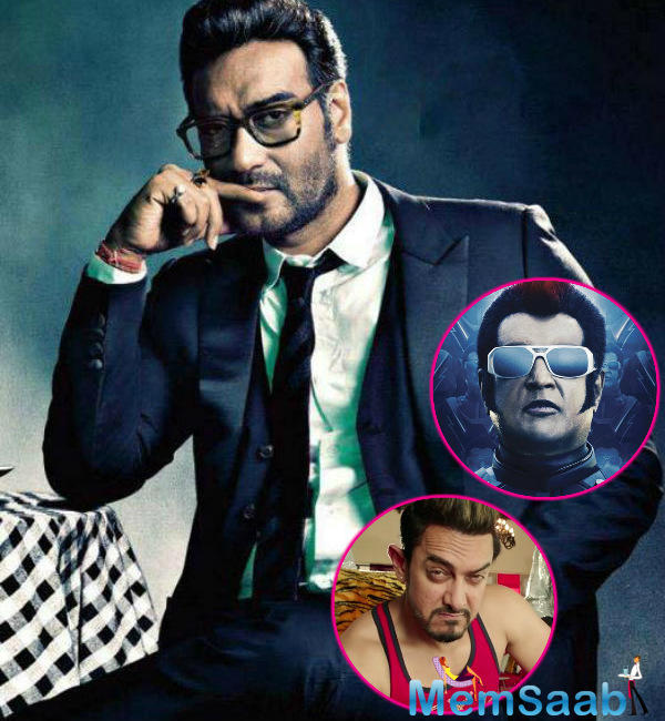 Immediately the other stars big release joins the league of clashes and it's none other than Ajay Devgn. Reportedly, 'Golmaal Again' get a same release date.