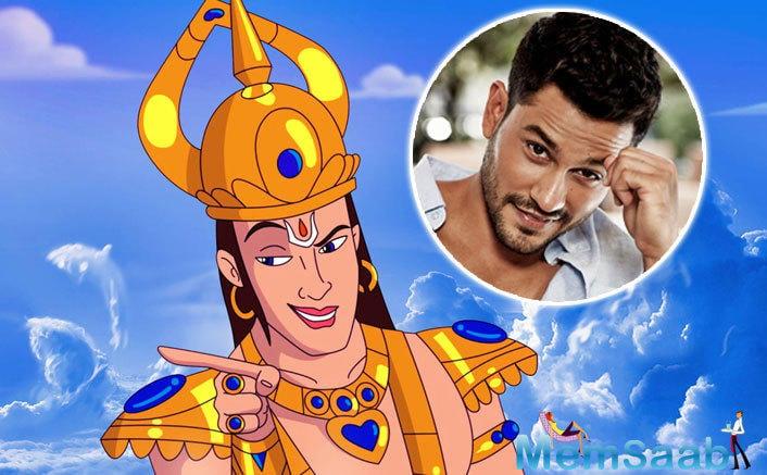 Kunal Kemmu on Sunday revealed the face of his animated character 'Indra' in Ruchi Narain's 'Hanuman DA Damdaar'.