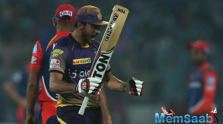 Pandey stayed till the end to guide KKRto a thrilling victory.