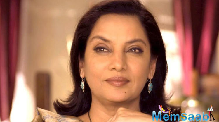 The last time Shabana Azmi did a children's film, where she played a witch in Makdee.