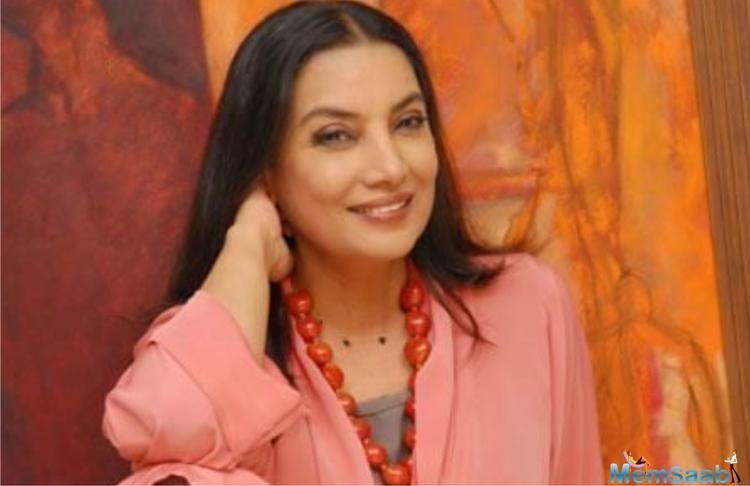 This week Shabana Azmi will be seen playing the robust, devil-may-care sassy and fearless Dolon Sen in Aparna Sen's fragilely feisty new English-language film Sonata.