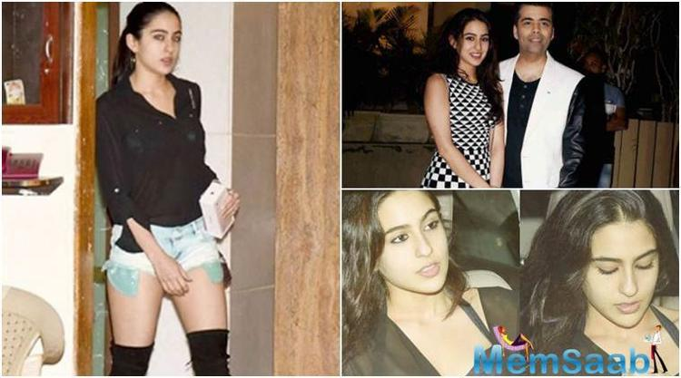 Sara was to debut with Greek God Hrithik Roshan, but the news went to thrash. Later she was tagged opposite Tiger Shroff in 'Student of the Year 2', however, nothing concrete has been on record about this development.