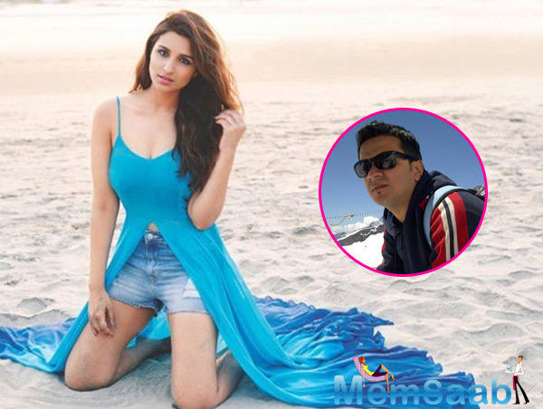 Parineeti Chopra may talk nineteen to the dozen, but ask her about her private life and her lips are sealed.