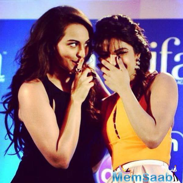 """Recently talk about her bond with Priyanka and why she looks up to the actress, Sona added, """"Priyanka and I are not text-buddies, but whenever we meet there is a  fondness between us."""