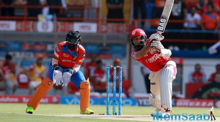 Despite clinching the wicket of Manan Vohra in the first over, Gujarat bowlers were taken to task by Hashim Amla (65), Glenn Maxwell (31) and Axar Patel (34).