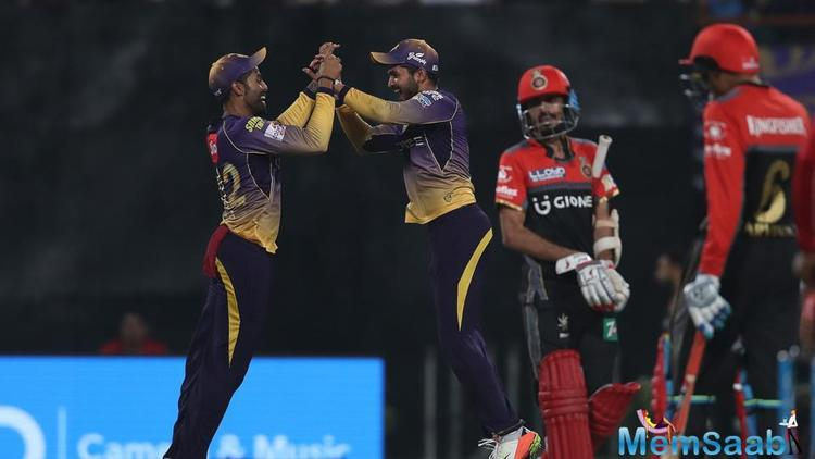 The hosts had set up a modest total on the board as they were all out for 131 with RCB leg-spinner Yuzvendra Chahal taking three wickets.