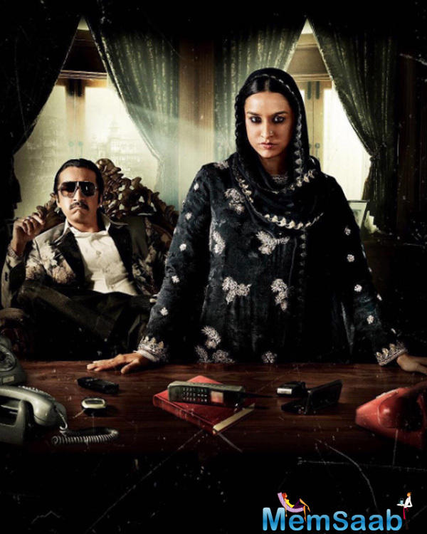 The following picture of the film saw her bringing in her brother, Siddhanth Kapoor, who acts the role of Dawood Ibrahim.
