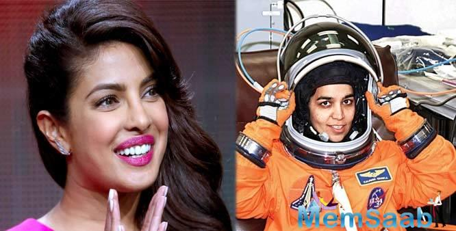 After reading on the role of Olympian Mary Kom, Priyanka will reportedly lock on her space suit and take on the role of Kalpana Chawla, the first Indian woman astronaut in space.