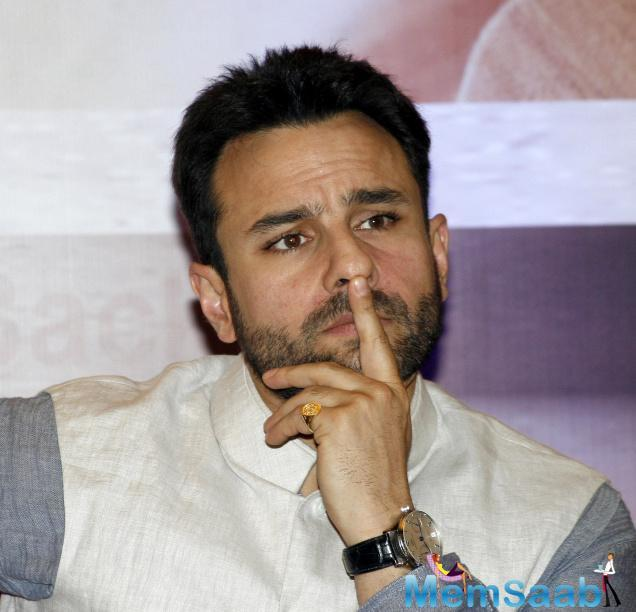 While several celebrities spoke up about Sonu Nigam's 'Azaan' row, when Saif Ali Khan was asked by a leading daily about his comments on the same.