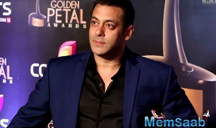 On the Bollywood front, Salman Khan will next be seen in Kabir Khan's 'Tubelight'.