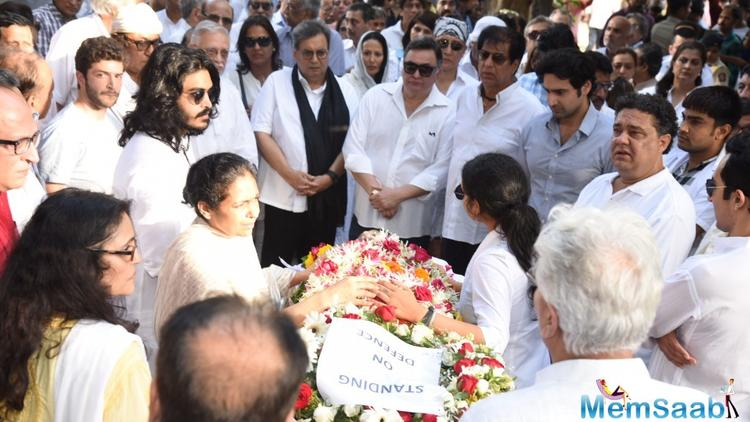 He also clarified that, why Neetu and Ranbir not attending the funeral, he added  my wife and Ranbir are out of the country. Would never had been a reason not to be there.