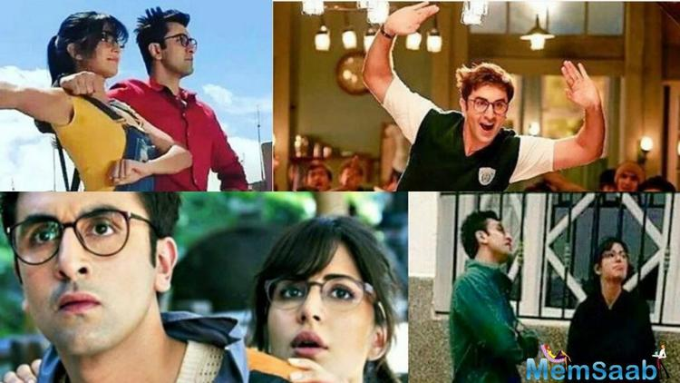 After their split, the couple, always maintain distance on the sets of Jagga Jasoos, only they came together to shoot.