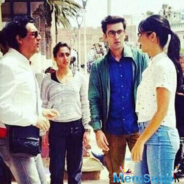 Can you believe this? Ranbir Kapoor and Katrina Kaif pose together for first ever selfie on 'Jagga Jasoos' sets