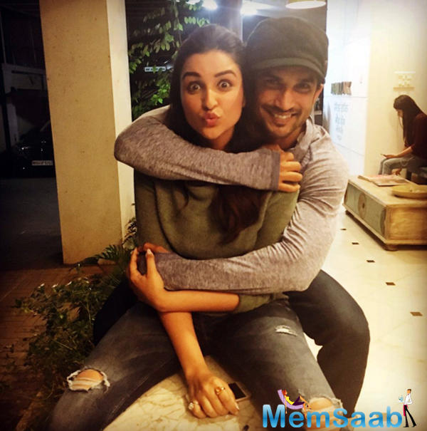 Parineeti will also be seen sharing screen space with Sushant in the upcoming film