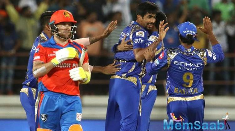 Needing 12 to win in the Super Over, Gujarat Lions' Brendon Mcullum and Aaron Finch couldn't hit Jasprit Bumrah out of the park.