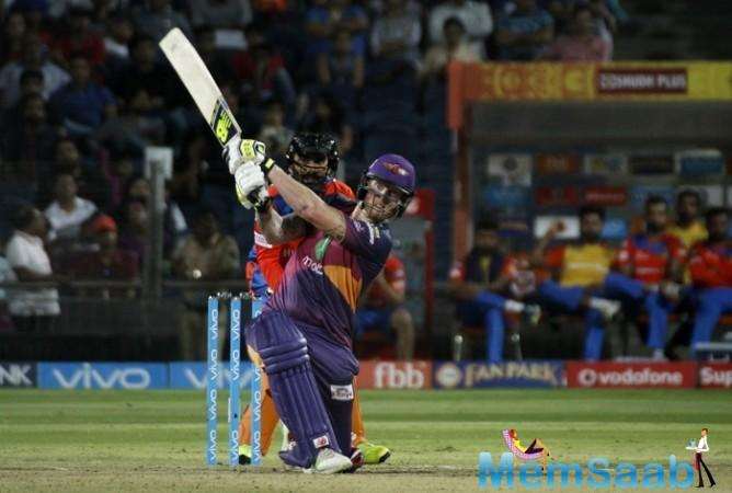 Ben Stokes has scored a wonderful ton to help his team win IPL 2017 Match 39 by five wickets. It was RPS' fifth win in their last six matches.