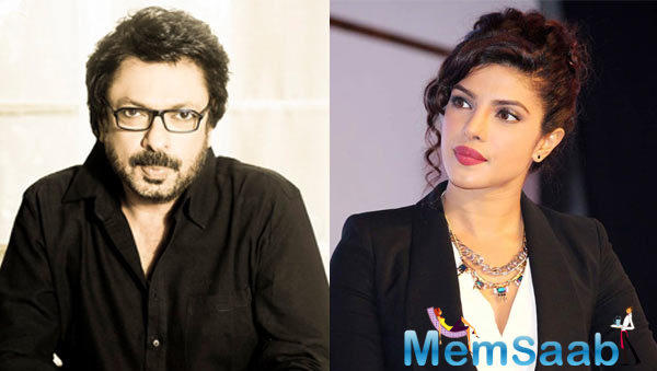 Earlier, she was paying a visit to Sanjay Leela Bhansali's abode during her brief trip in Mumbai, makes us assume that out of three films locked by Priyanka, one film might be of the 'Padmavati' director.