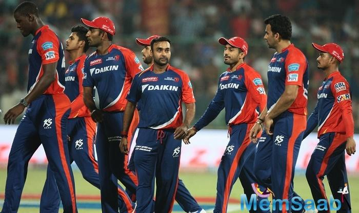 Karun Nair chipped in with 39, Rishabh Pant scored 34 while Shreyas Iyer scored 33 and Corey Anderson's 24-ball 41 helps Daredevils to win the match.