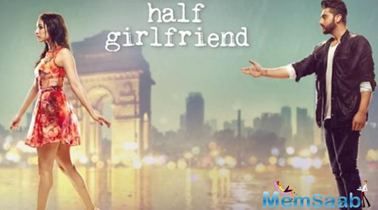 On the other hand, Arjun-Shraddha's Half Girlfriend is a coming-of-age romance between a vernacular Bihari Boy - Madhav Jha, who falls in love with an upper class