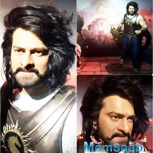 Not just that, Prabhas is the first South-Indian star to get his own wax statue, beating superstars like Rajinikanth and Kamal Haasan.