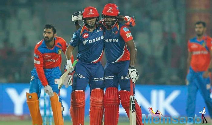 Delhi Daredevils rode on a fiery 97 from Rishabh Pant and Sanju Samson's 31-ball 61 to thrash Gujarat Lions by 7 wickets in an IPL 2017 match at the Feroz Shah Kotla Stadium.