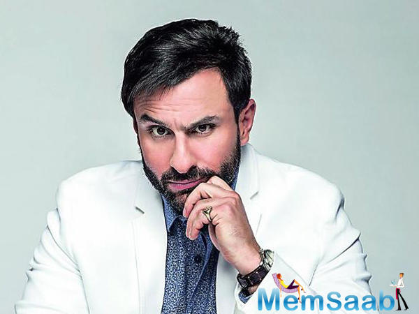 Saif Ali Khan, who was last seen in Rangoon, will be next seen in Chef and Baazaar, here revealed the first look of Baazaar, where Saif looks suave in his grey-haired avatar.