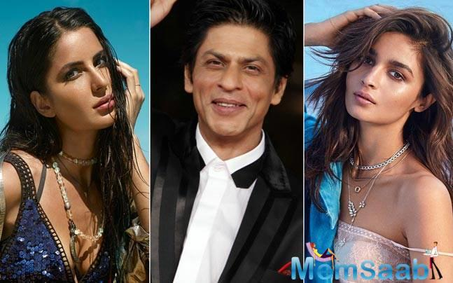 Simply starting with the latest buzz, it is almost official that Alia and Katrina will share screen space with Shah Rukh Khan in Rai's ambitious project.