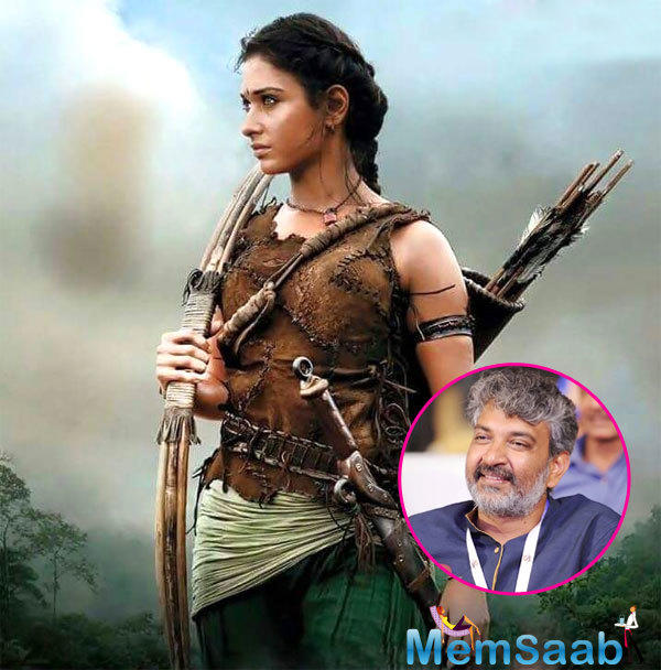 Apparently, the entire team of  'Baahubali' is in high spirits, except Tamannaah, who played the second leading lady.