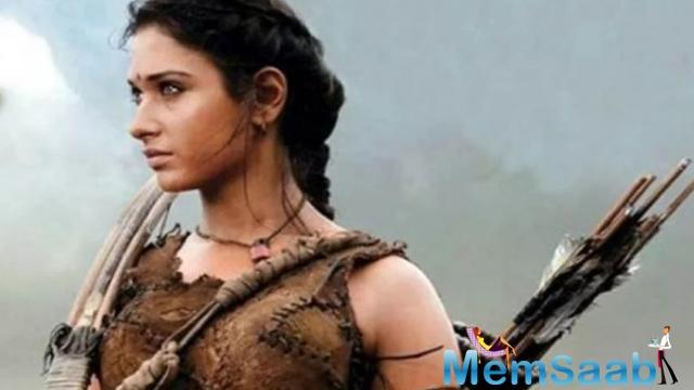 However, Tamannaah, who is reported to have charged Rs 5 crores for the film, hasn't commented anything on it.