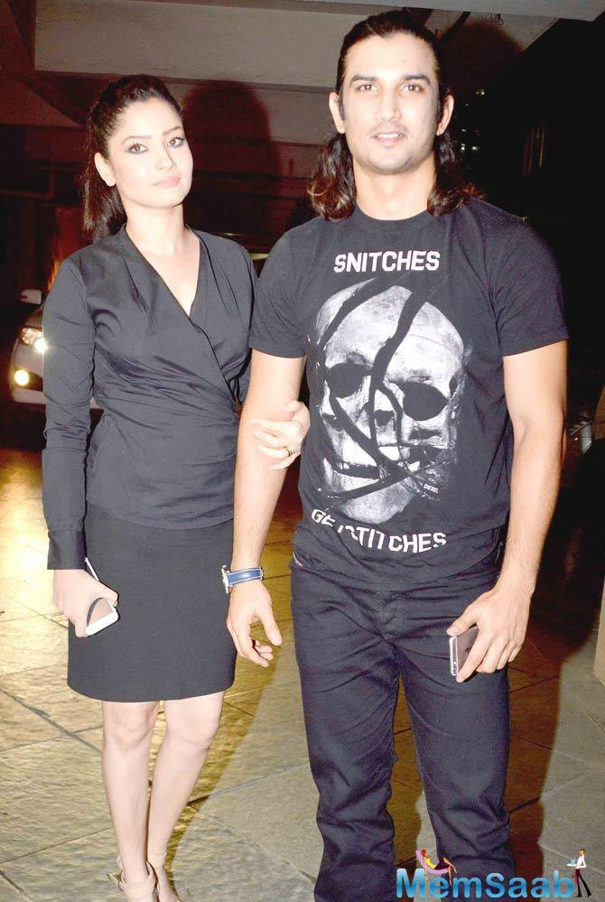 Sushant Singh Rajput and Ankita Lokhande were recently spotted sipping coffee together.